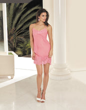 Load image into Gallery viewer, Soir de Venise Silk Nightie Orchid Pink