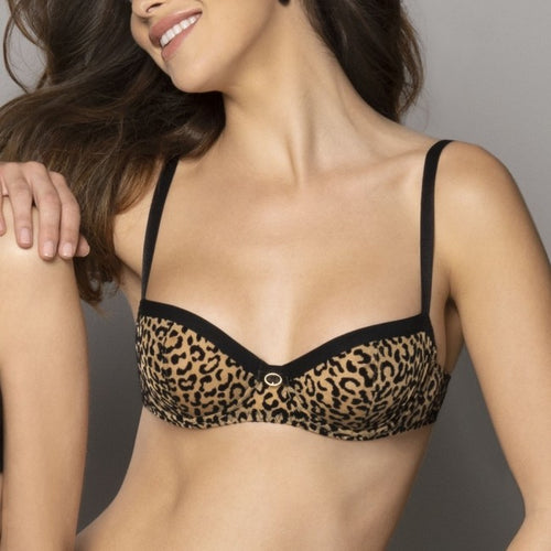 Antigel Signature Fauve Padded Push Up Bra