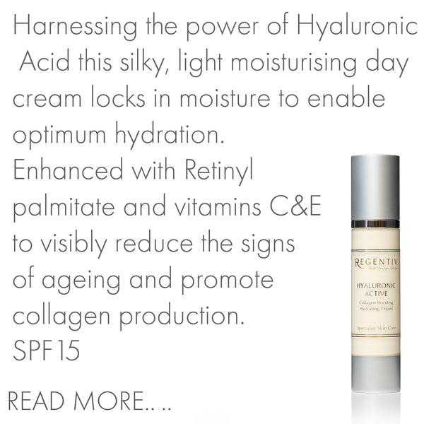 Hyaluronic Active,  Collagen Boosting Hydrating Cream