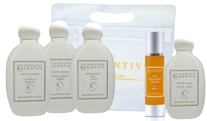 Travel Regime Set for Open Pores & Problematic Skin (saves £12)