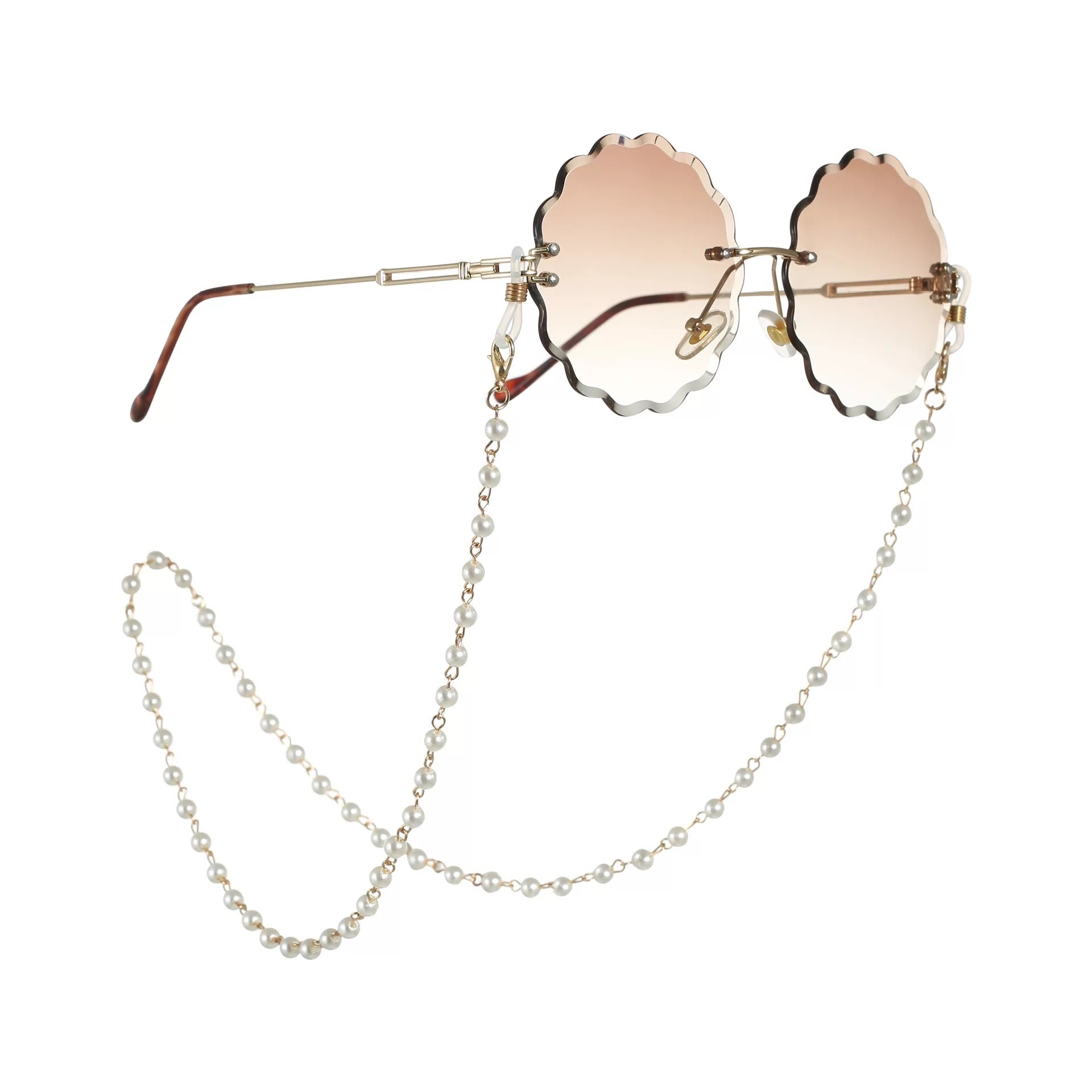 Pearl Mask & Eyewear Chain