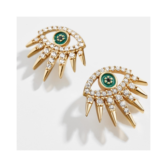 Tali Eye Stud Earrings - EYEBAR HOUSTON