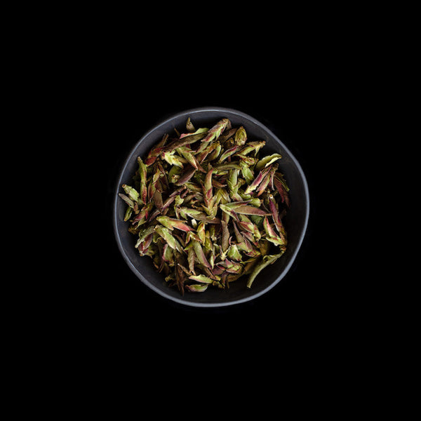 Purple leaf white tea