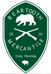 Beartooth Mercantile Sticker - Green