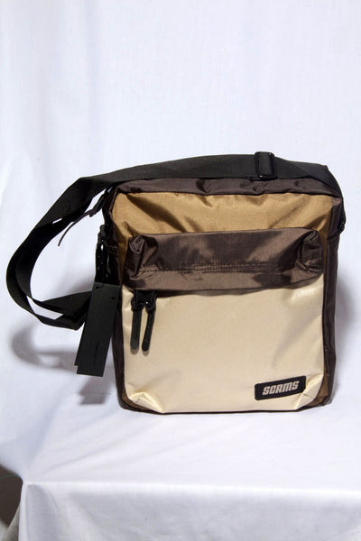 "MALE SLINGBAG""KINGDOM #4""BROWN"