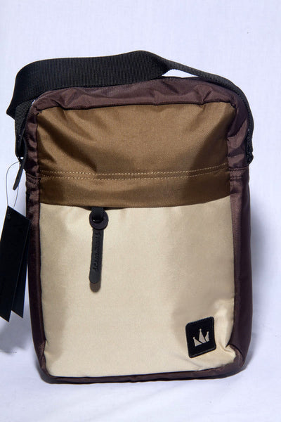 "MALE SLINGBAG""KINGDOM #5""BROWN"