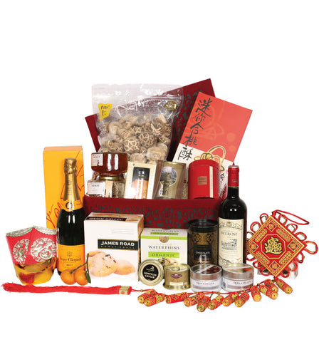 Blog gift hampers hk gift hampers the perfect way to extend it contains kee wah bakery butter eggrolls assorted tea cookies sesame biscuits new year cake kee gold label shiitake negle Images