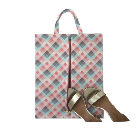 Pastel Hues Shoe Bag