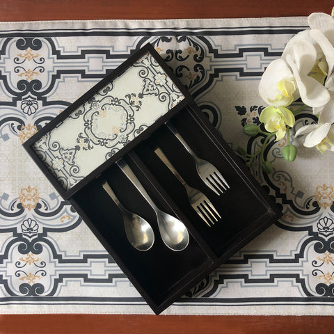 Summer Grunge Cutlery Tray
