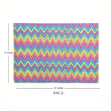 Rainbow Chevron Folder