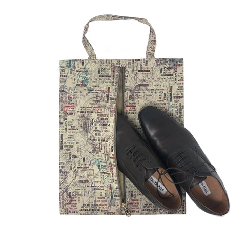 Route Map Shoe Bag