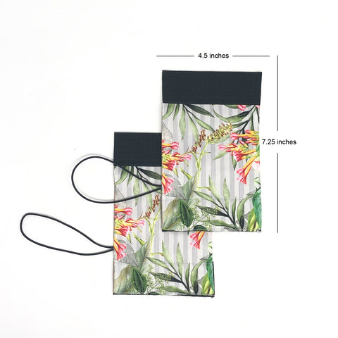 Stripe Foliage Luggage Identifier
