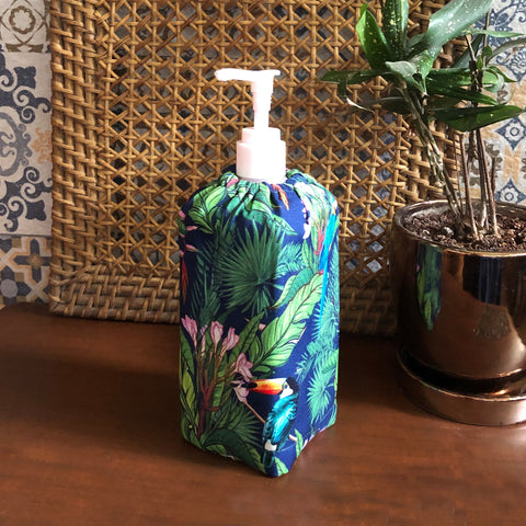Birds in Paradise Sanitizer Bottle Cover