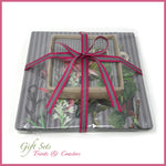 Grey Foliage Trivet & Coaster Set