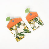 Floral Trellis Jewel Pouch Set