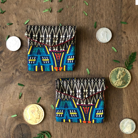 Aztec Coin/ Ginni Pouch (set of 2)