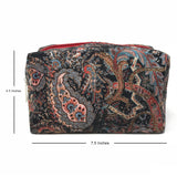 Paisley Travel Pouch