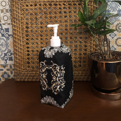 Ebon Baroque Sanitizer Bottle Cover