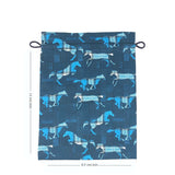 Galloping Horses Drawstring Pouches