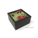Tropical Foliage Square Box