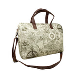 Nautical Map Weekend Duffle Bag