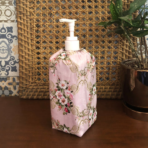 Pastel Floral Sanitizer Bottle Cover