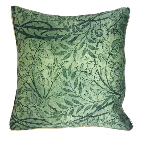 Floral Bahaar (Green) Cushion