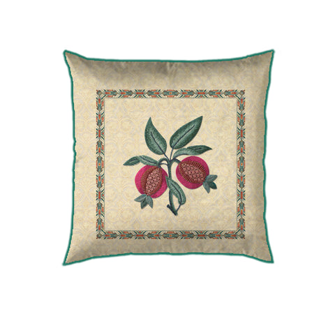 Floral Trellis Buta Cushion