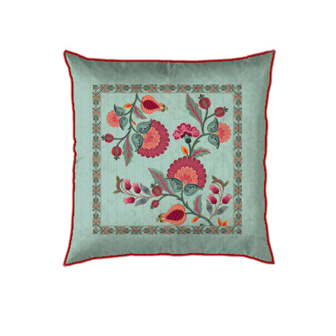 Floral Trellis Cushion