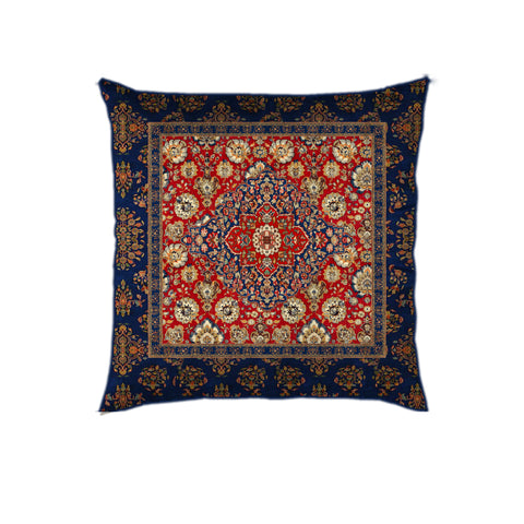 Persian Floral Jaal (Blue) Cushion