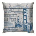 Blueprint Series - Bridge Cushion