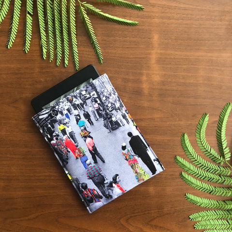 Vintage Street Vibe Kindle Sleeve