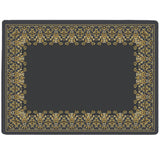 Grey Baroque Tablemat