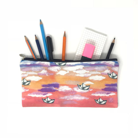 Artistic Boat Pouch
