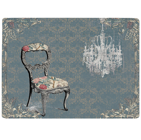 Vintage Furniture- Chair Tablemat