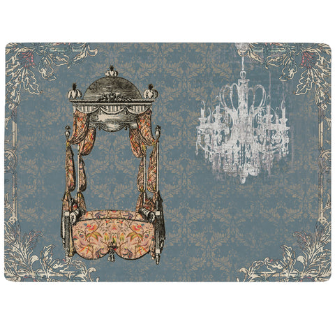 Vintage Furniture- Bed Tablemat