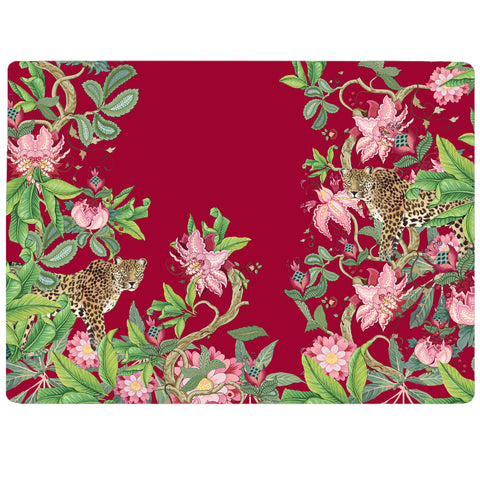 Tropical Forest - Leopard Tablemat