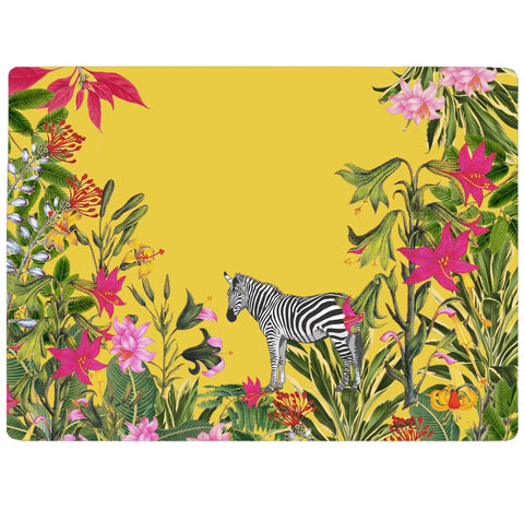 Tropical Forest - Zebra Tablemat