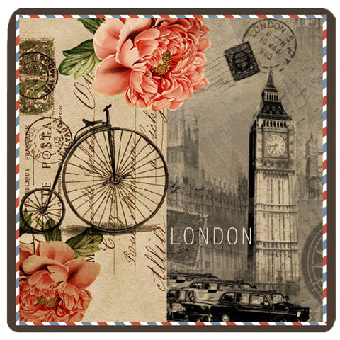 Postcard Collection - London Trivet