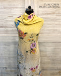 Floral Citrus Rush Dress Material