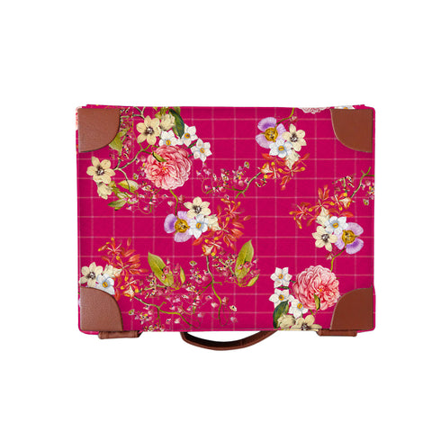 Pink Floral Watch Box