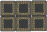 Grey Baroque Coasters