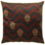 Shevron Embroidered Cushion