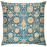 Rustic Blue jaal Cushion