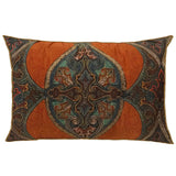 Rustic Paisley Long Cushion