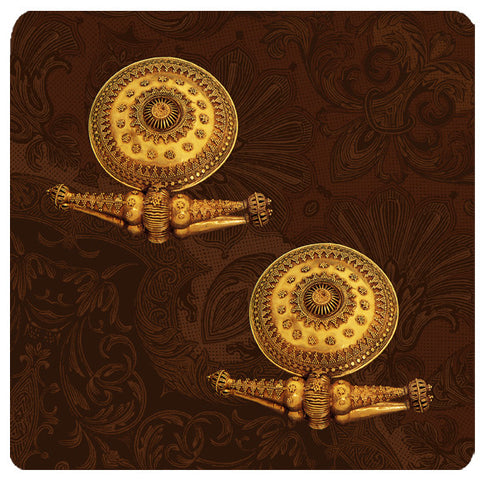 Royal Jewel - Earring Trivet