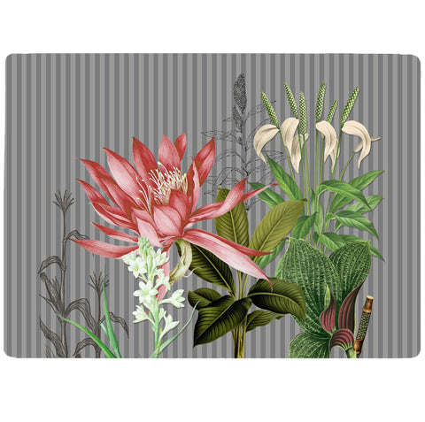 Grey Foliage Tablemat