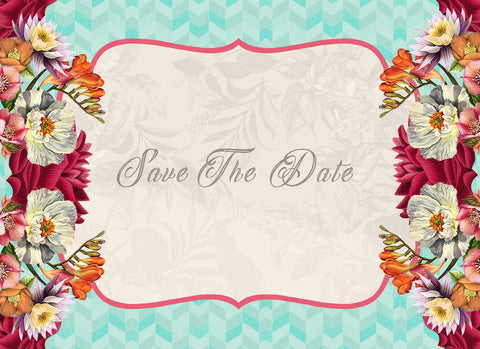 Save the Date - Wild Flowers