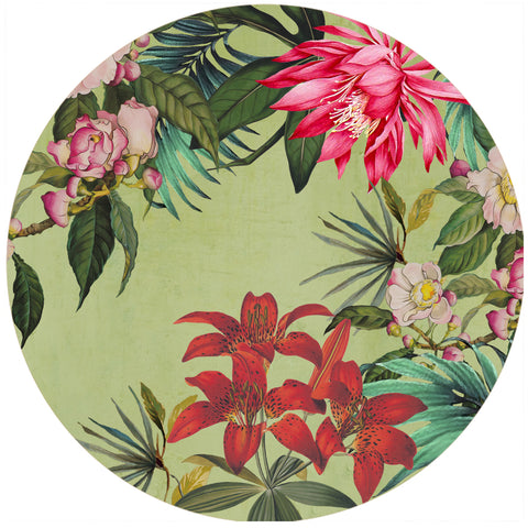 Tropical Foliage Trivet