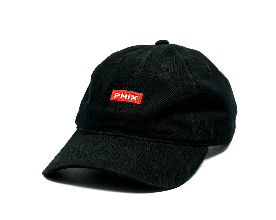 PHIX Dad Cap - Black